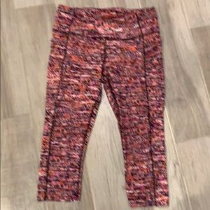Lululemon Fast and Free cropped leggings